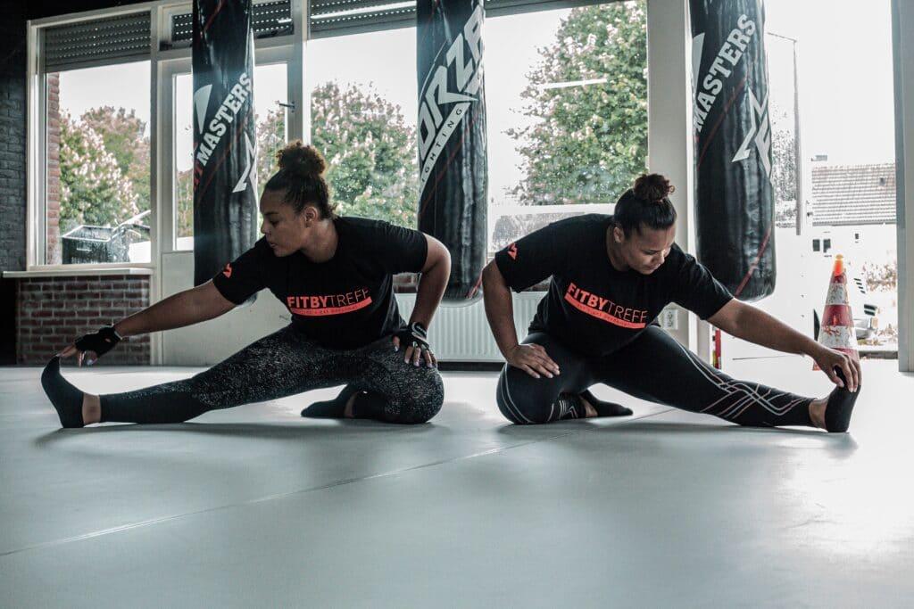 Duo training Almere stad