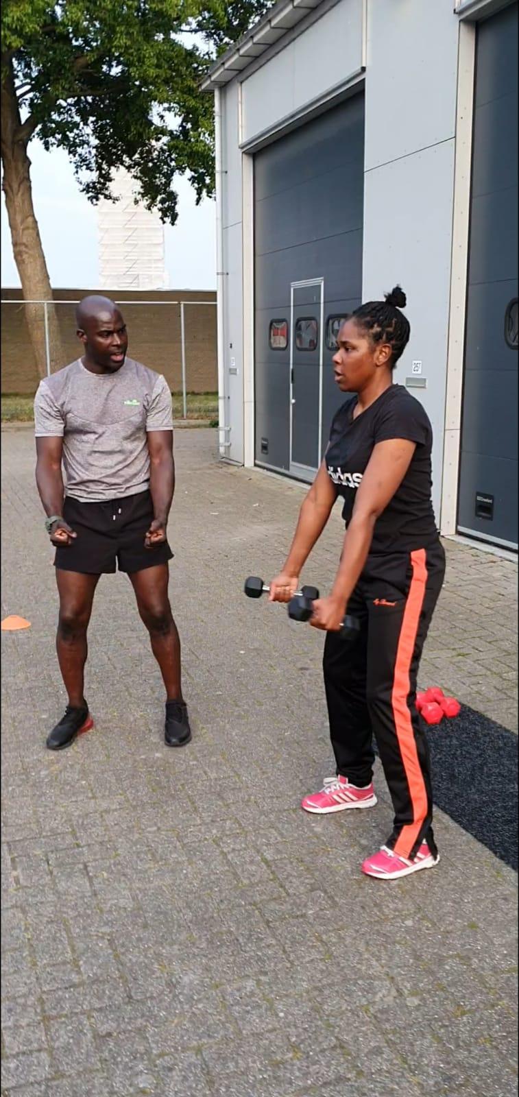 Personal training almere Fitbytreff Femme en Treffel